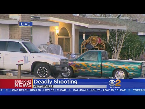 Man Killed, Second Wounded After Gunfire Erupts At Victorville Home