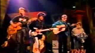 Brian Setzer, Marty Stuart & Ricky Skaggs - Mystery Train & I Walk The Line