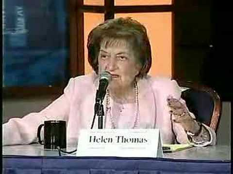 Helen Thomas on the Media