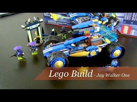 Let's Build - Lego Ninjago Jay Walker One Set #70731