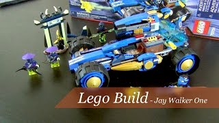 Let's Build - Lego Ninjago Jay Walker One Set #70731