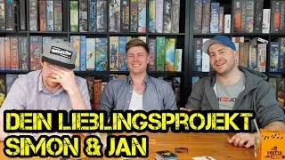 Dein Lieblingsprojekt - Simon & Jan - Harter Tobak - Erzählt euch mehr - Boardgame Digger