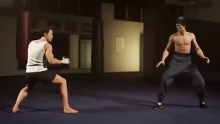 Donnie Yen Vs Bruce Lee And Jet Li Fight Scenes (3D and MV)