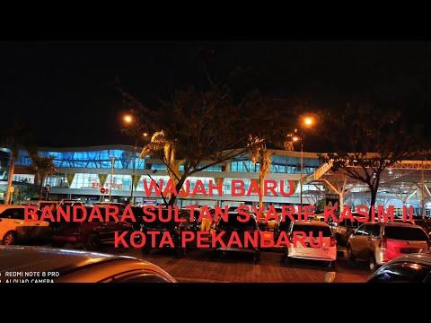 BANDARA INTERNASIONAL SULTAN SYARIF KASIM II PEKANBARU SETELAH RENOVASI