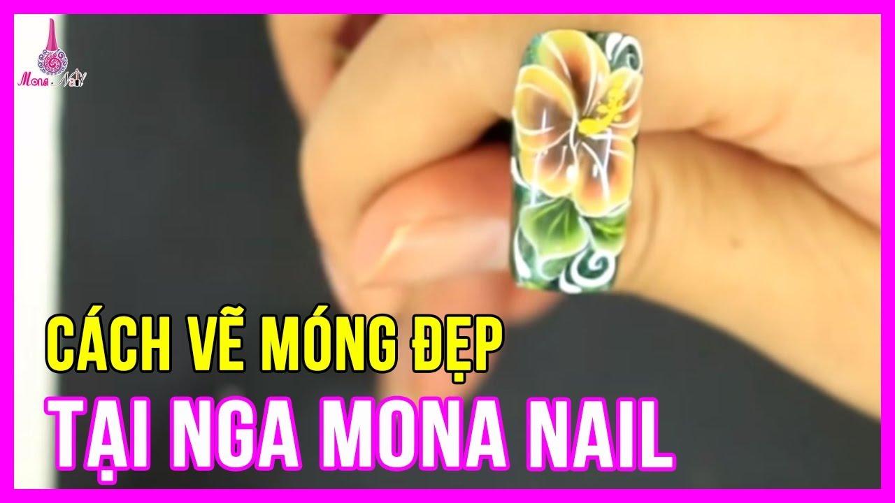 Cách Vẽ Móng Tay Đẹp – Cách Vẽ Móng Tay Đẹp Tại Nga Mona Nail | Mona Nail