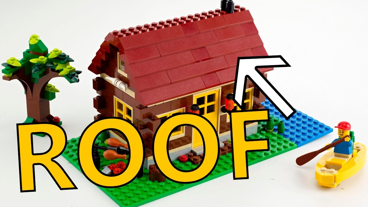 Lego Worlds How To Build A Roof 101 Or Not Youtube