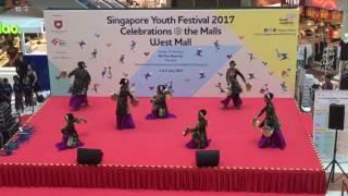 Yusuf Ishak Sec School SYF 2017 Malay Dance at West Mall on 1 July 2017