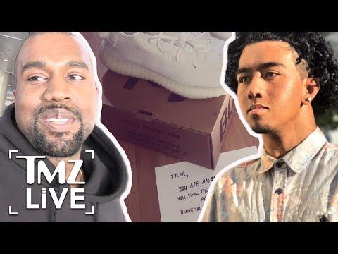 Kanye West Sends Inspirational Fan A Gift | TMZ Live