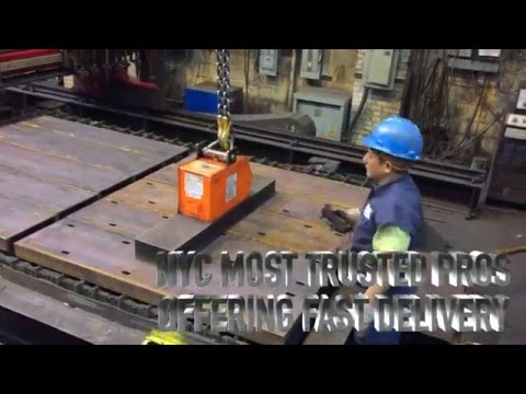 New York City Structural Steel Fabrication, Allied Steel NYC -Video