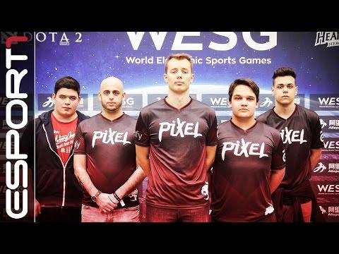 Pixel csapatinterjú a WESG selejtező megnyerése után