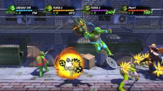 TMNT Turtles In Time Re-Shelled  4 Players