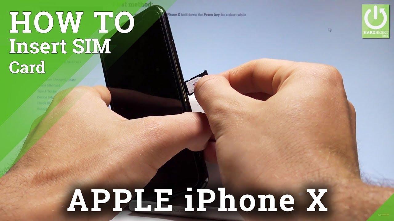 Sim Karte Einlegen Iphone X.Sim Karte Beim Iphone X Einlegen