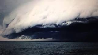 """Ominous Dark Clouds"" Over Australia"