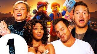 """""""Pew Pew Pew!"""" 💥 Chris Pratt & The Lego Movie 2 cast get awesome! Again!"""