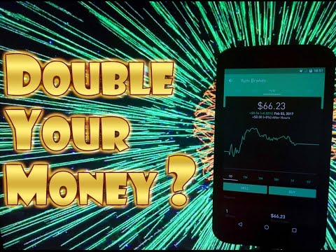 Robinhood APP – NEW INVESTOR with $100 – DOUBLE YOUR MONEY Trading Stocks??