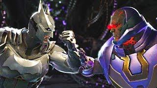Injustice 2 - Batman vs Darkseid - All Intro Dialogue, Super Moves And Clash Quotes