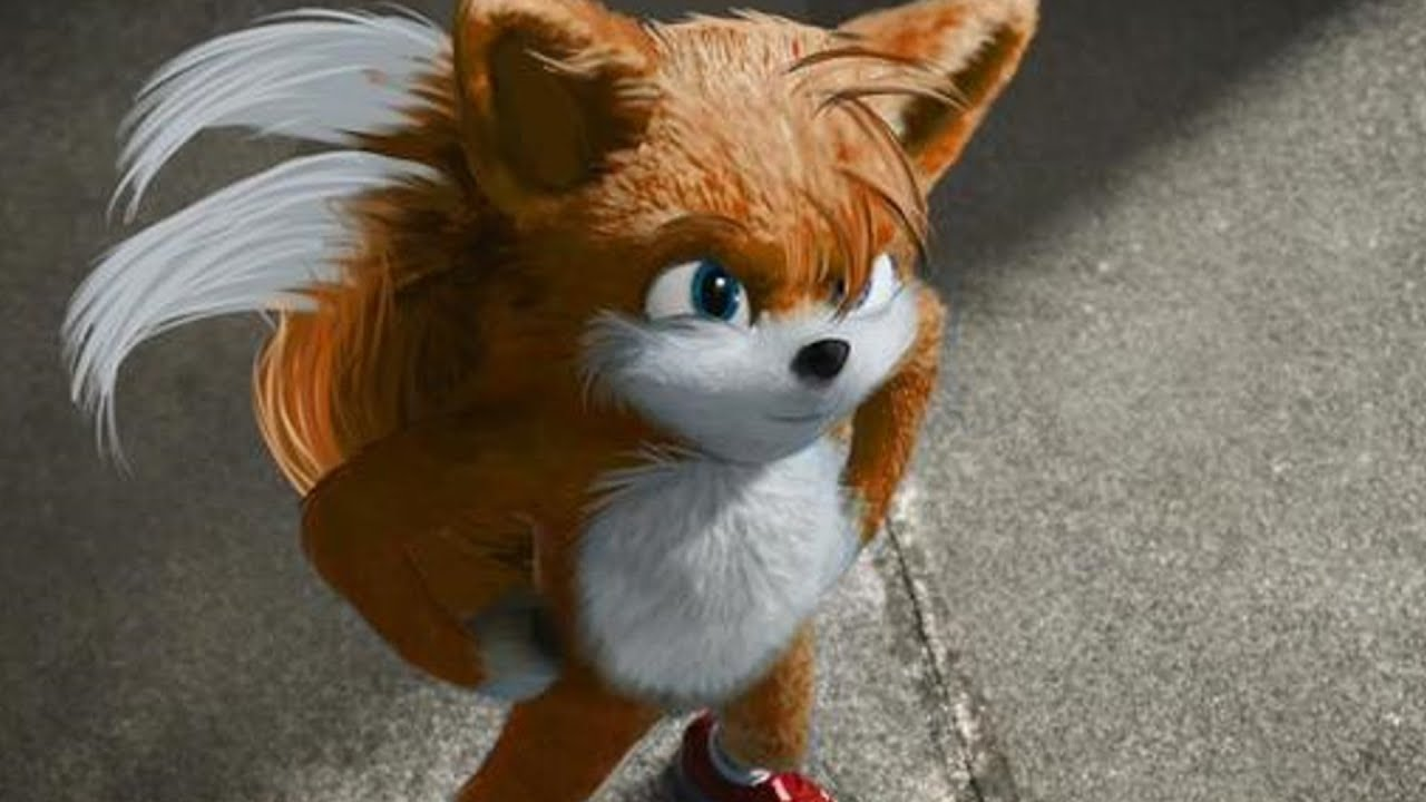 Sonic Movie Tails Reveal Youtube