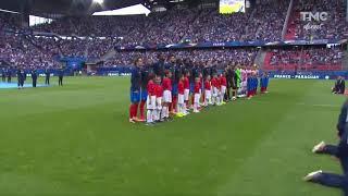 France-paraguay la Marseillaise