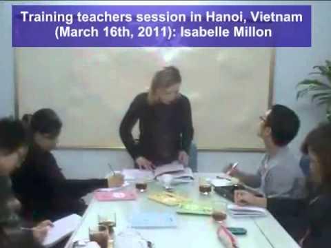 Training teachers session in Hanoi - 1