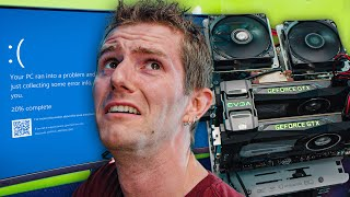 We OVERCLOCKED this $5000 PC from 10 years ago!!!