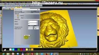 Видеоурок арткам просчет 3д модели по автоматической границе рельефа