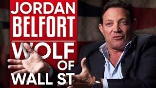 JORDAN BELFORT - THE WOLF OF WALL STREET - Part 1/2 | London Real