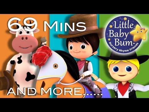 Yankee Doodle | Plus Lots More Nursery Rhymes | 69 Minutes Compilation from LittleBabyBum!