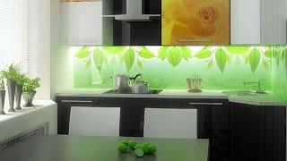Дизайн кухни:  фартук из стекла – скинали(, 2016-03-09T16:45:16.000Z)