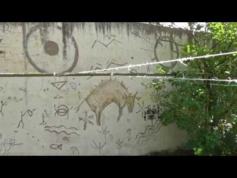граффити, наскальная живопись в Великом Новгороде