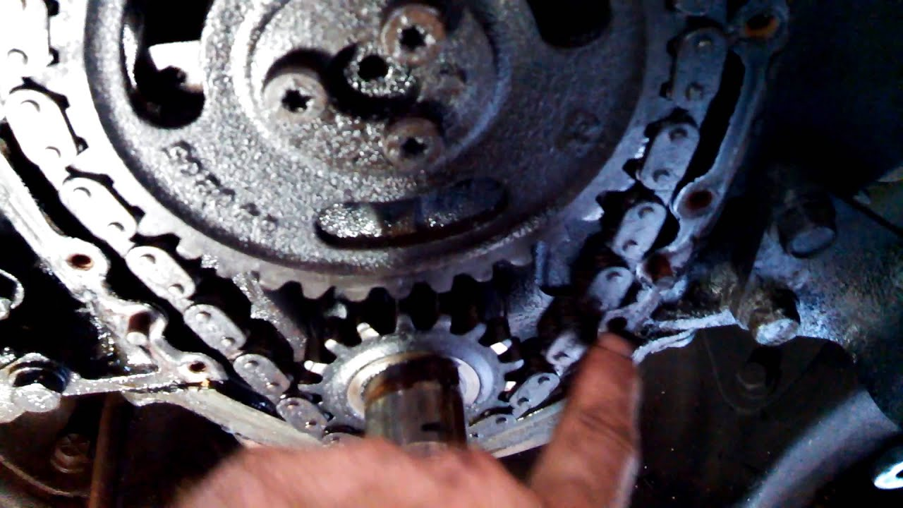 1987 Chevrolet R10 305 5 0 Timing Chain Replacement Youtube