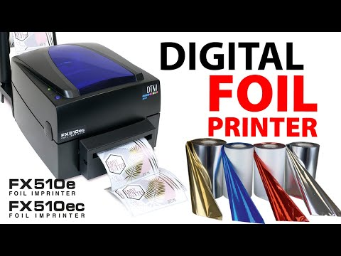 Digital Metallic Foil Printer - DTM FX510e / FX510ec