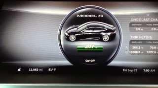 Tesla Motors Model S -- Battery Capacity after 11,000 Miles & 4 Months 1 Week of ownership.