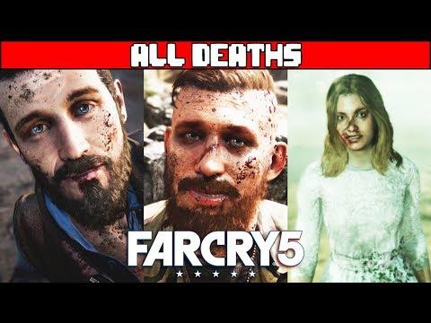 FAR CRY 5 All Death Scenes