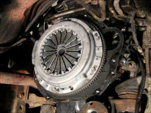 Toyota Pickup Clutch Replacement Part 2 of 3 - YouTube