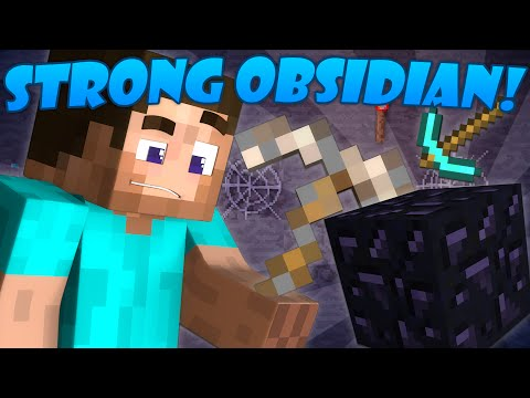Thumbnail: Why Obsidian is Strong - Minecraft