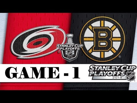 Carolina Hurricanes vs Boston Bruins | Third round | Game 1 | Stanley Cup 2019 | Обзор матча