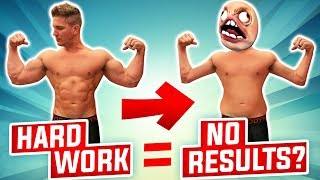 3 Reasons Why You Are Still SKINNY FAT! | Training Harder, But Getting Smaller?!