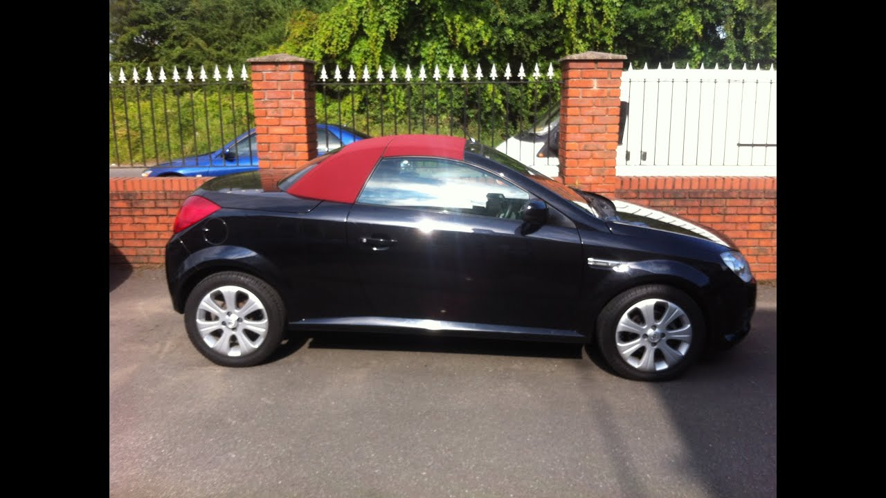 2008 vauxhall tigra convertible car review youtube. Black Bedroom Furniture Sets. Home Design Ideas