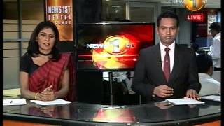 Newsfirst Prime time 8PM  Shakthi TV news 2nd September 2014