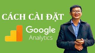 Jweb Hướng dẫn cài đặt Google Analytics - ĐƠN GIẢN, AI CŨNG LÀM ĐƯỢC