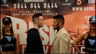 JOSH TAYLOR v MIGUEL VAZQUEZ - OFFICIAL HEAD TO HEAD FROM EDINBURGH SCOTLAND / TAYLOR v VAZQUEZ