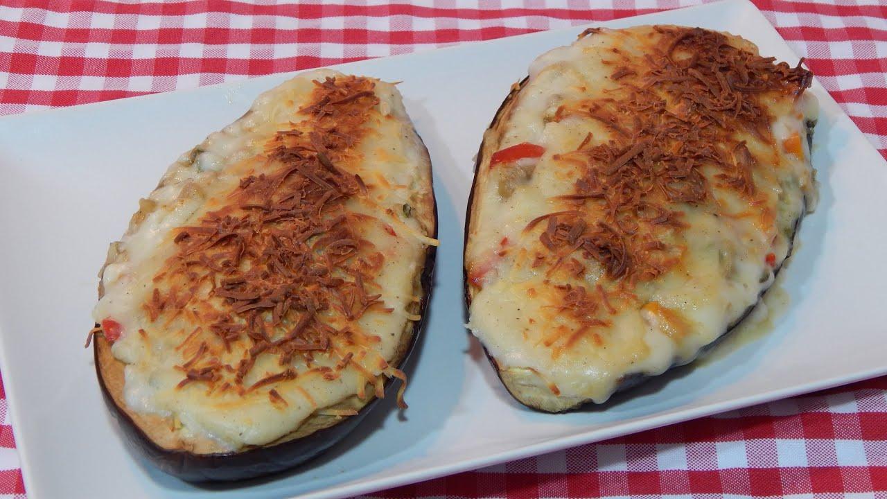 C mo hacer berenjenas rellenas de verduras receta f cil for Comidas para preparar rapido y facil