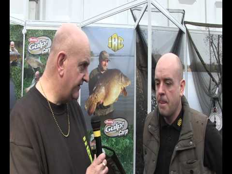 Steve Edgerton Of JRC At The Big One 2012 Fishing Tackle Show And Expo