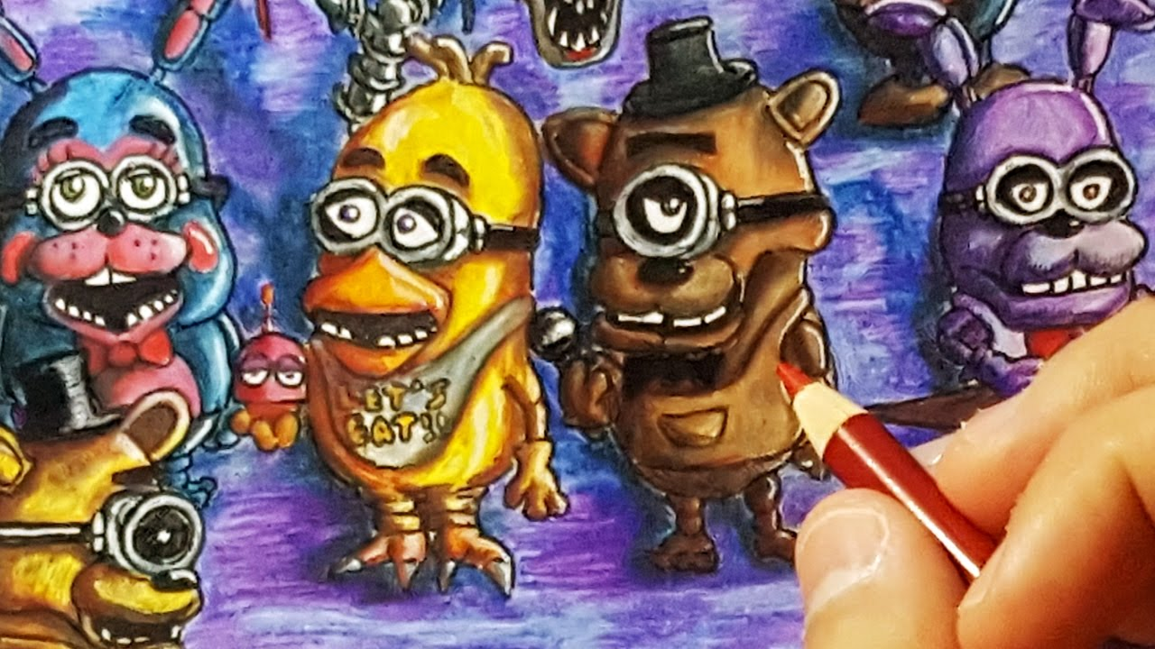 if minions were five nights at freddys animatronics