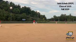 Iseia Schulz (OF/P) - Class of 2025 - Fall 2020
