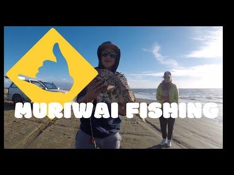Muriwai Fishing Day