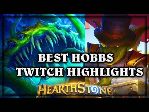[Hearthstone] BEST OF HOBBS TWITCH HIGHLIGHTS ~ Knights of the Frozen Throne Expansion