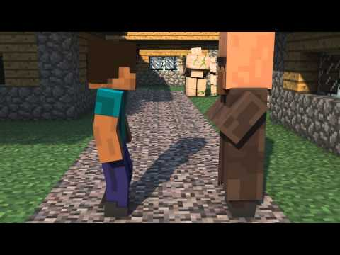 Minecraft 3D Animation - Typical Trading