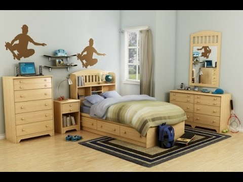 Cool Boys Bedroom Decorating Ideas - Teen Bedroom Ideas - Youtube
