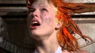 Милла Йовович и Брюс Уиллис в фильме-Пятый элемент.Муз.клип.
